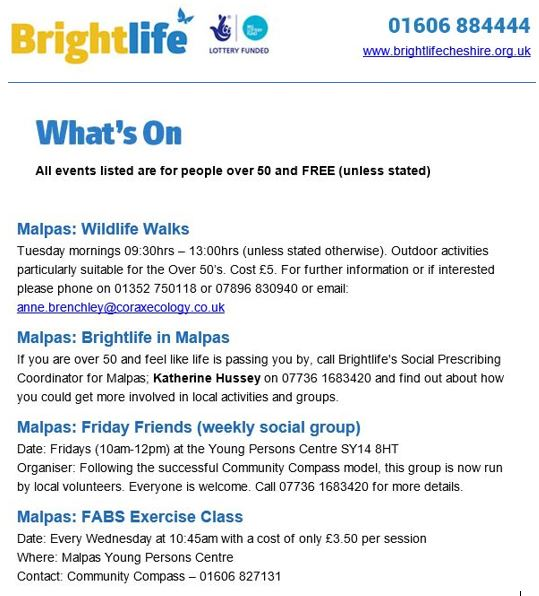bright life oct 2017 programme