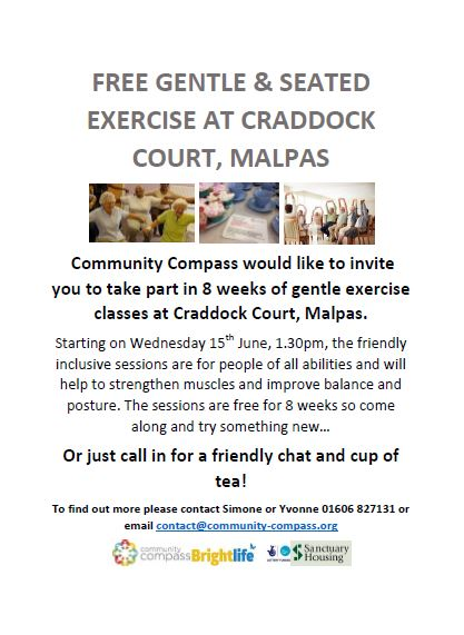 exercise at Craddock court