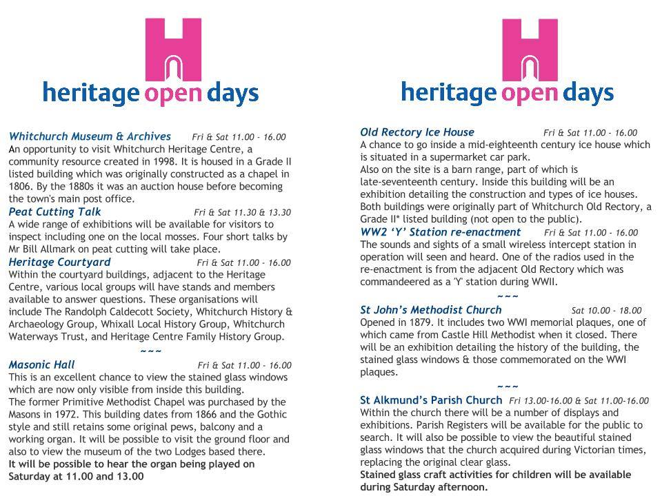 heritage open days 2