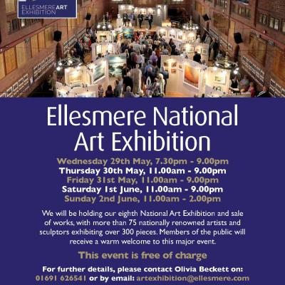 Image: 4250 Ellesmere National Art Exhibition A3 Poster   Web Version