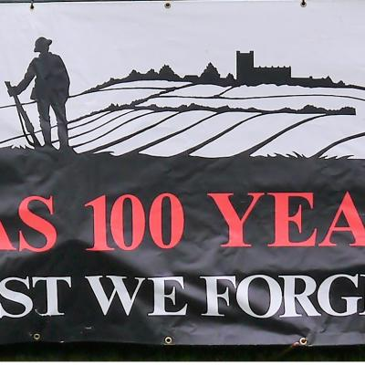 Malpas Lest We Forget Banner