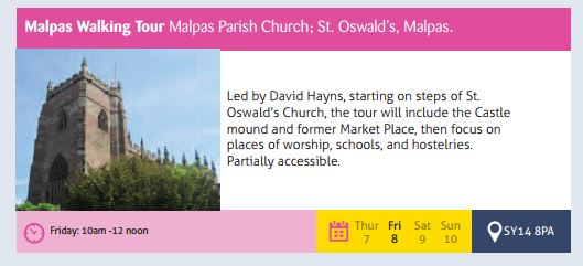 Malpas Walking Tour