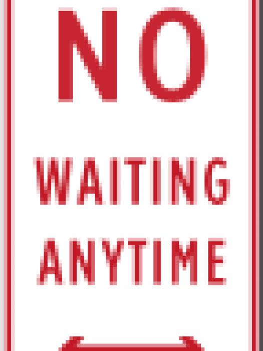 no waiting