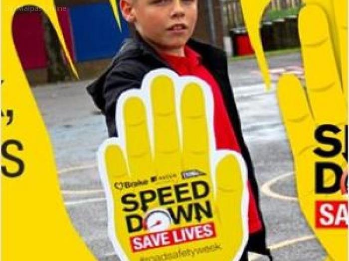 Speed down save lives