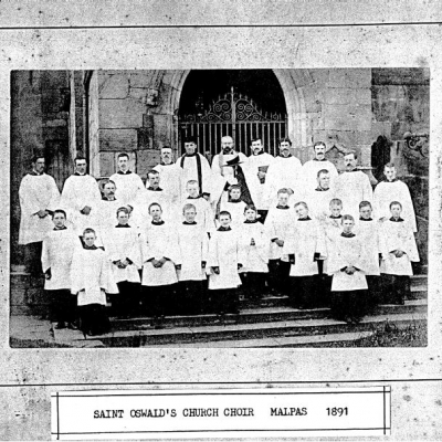 St Oswalds Church Choir 1891
