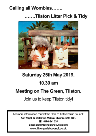 Tilston Litter Pick